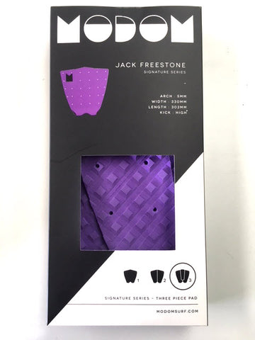Modom Jack Freestone Tail Pad - Purple