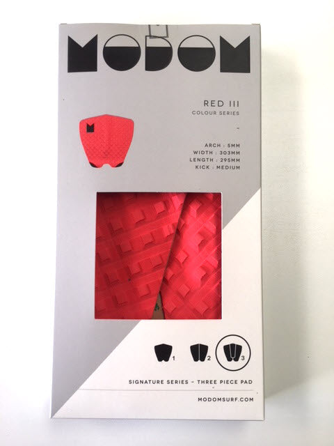 Modom Colour Series 3 Tail Pad - Red