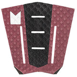 Modom Taj Burrow Tail Pad - Burgundy/Black