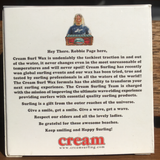 Cream Surf Wax Tropical Water