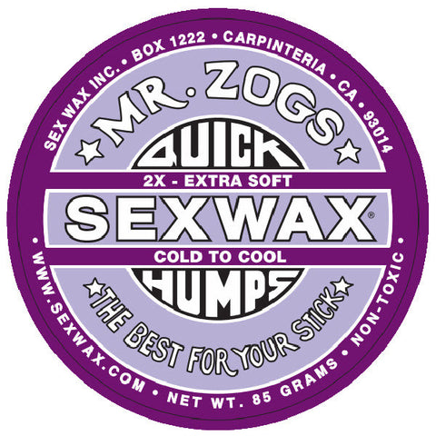 Sex Wax Quick Humps Cold to Cool Water Wax