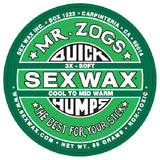 Sex Wax Quick Humps Cool to Mid Warm Water Wax