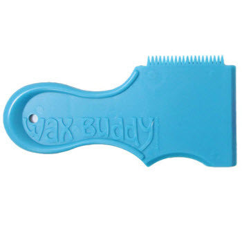 Wax Buddy Wax Comb - Electric Blue