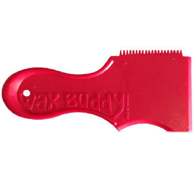 Wax Buddy Wax Comb - Red