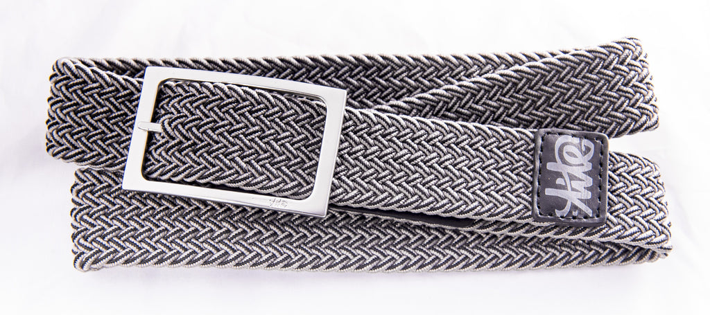 Business Belt - BLACK/GREY