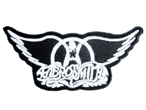 "AEROSMITH WINGS Iron On Embroidered Patch 3.5""/9cm"