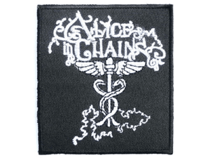 ALICE IN CHAINS Iron On Sew On Embroidered Patch 3.1/8cm - A Patch E Store