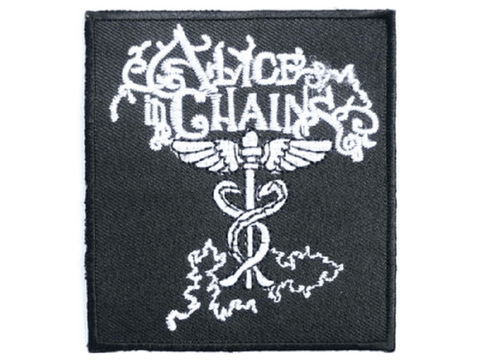 ALICE IN CHAINS Iron On Sew On Embroidered Patch 3.1/8cm