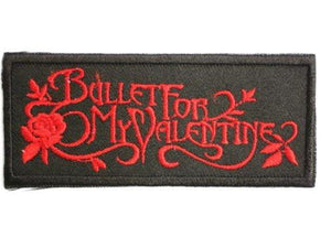 "Bullet For My Valentine Iron On Embroidered Patch 3.8""/9.6cm - A Patch E Store"