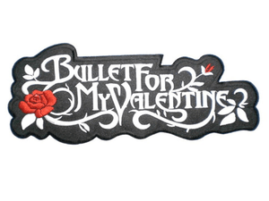 "Bullet For My Valentine Big XL Embroidered Back Patch 13.7""/35.4cm - A Patch E Store"