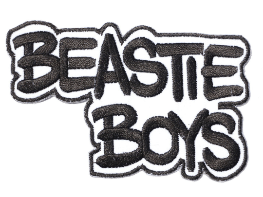 "BEASTIE BOYS Hip Hop Iron On Embroidered Patch 3.7""/9.6cm - A Patch E Store"