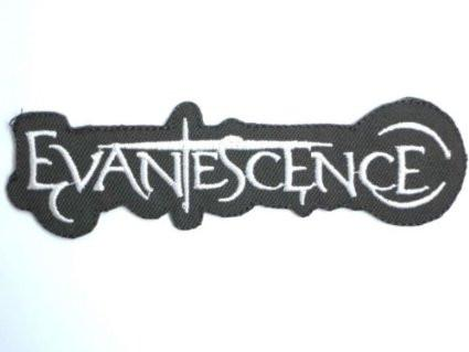 "Evanescence Logo Iron On Embroidered Patch 4.7""/12.2cm - A Patch E Store"