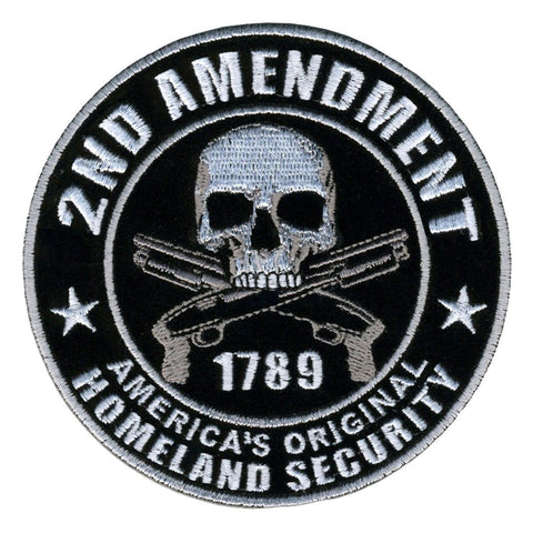 "2ND Amendment America,s Original Homeland Security Embroidered Patch 3"" - A Patch E Store"