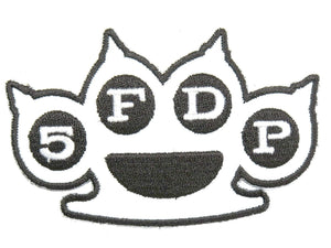 "FIVE FINGER DEATH PUNCH 5FDP Iron On Embroidered Patch 3.6""/9cm - A Patch E Store"