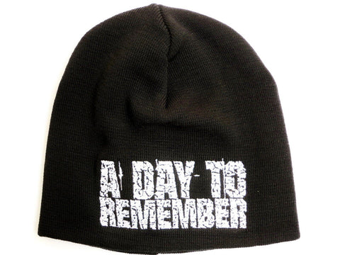 A DAY TO REMEMBER Logo Acrylic Wool  Beanie Hat BNWT