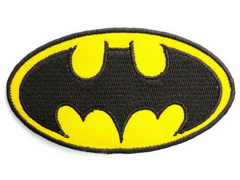 "BATMAN Fancy Dress Big Embroidered Chest Back Patch 8.1""/20cm"