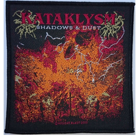 KATAKLYSM SHADOWS & DUST Vintage Woven Patch 2003