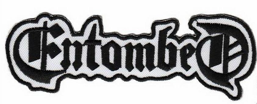 "ENTOMBED Death Metal Cut Out Embroidered Patch 4.8""/12cm - A Patch E Store"