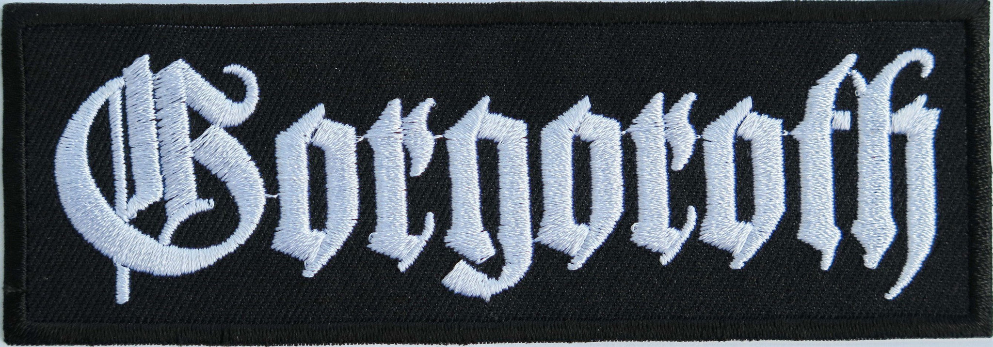 "GORGOROTH Iron On Sew On Black Metal Embroidered Patch 4.7""/12cm - A Patch E Store"