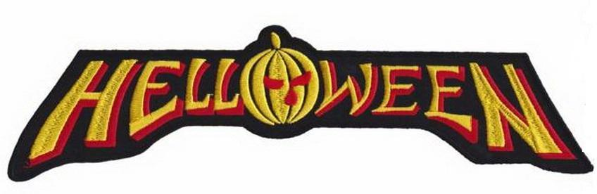 "HELLOWEEN Giant XL Embroidered Back Patch 11.8""/29.6cm - A Patch E Store"