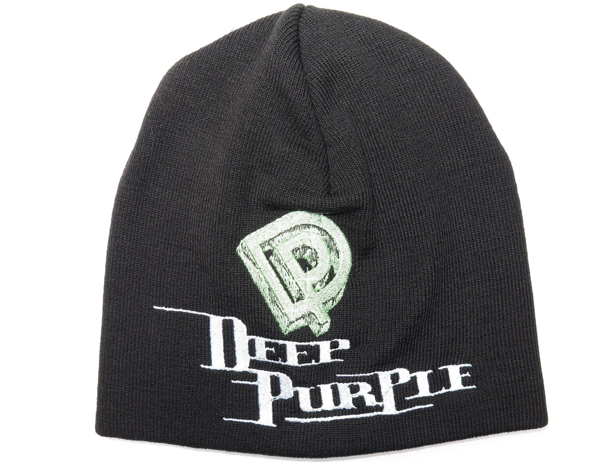 DEEP PURPLE DP Logo Acrylic Wool Beanie Hat BNWT - A Patch E Store
