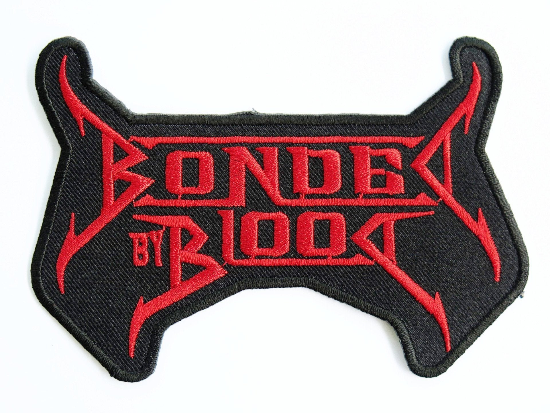 "Bonded by Blood Iron Sew On Thrash Metal Embroidered Patch 4.8""/12cm - A Patch E Store"