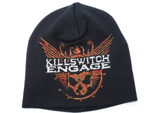 KILLSWITCH ENGAGE Skull Winter Wool Beanie Hat BNWT - A Patch E Store