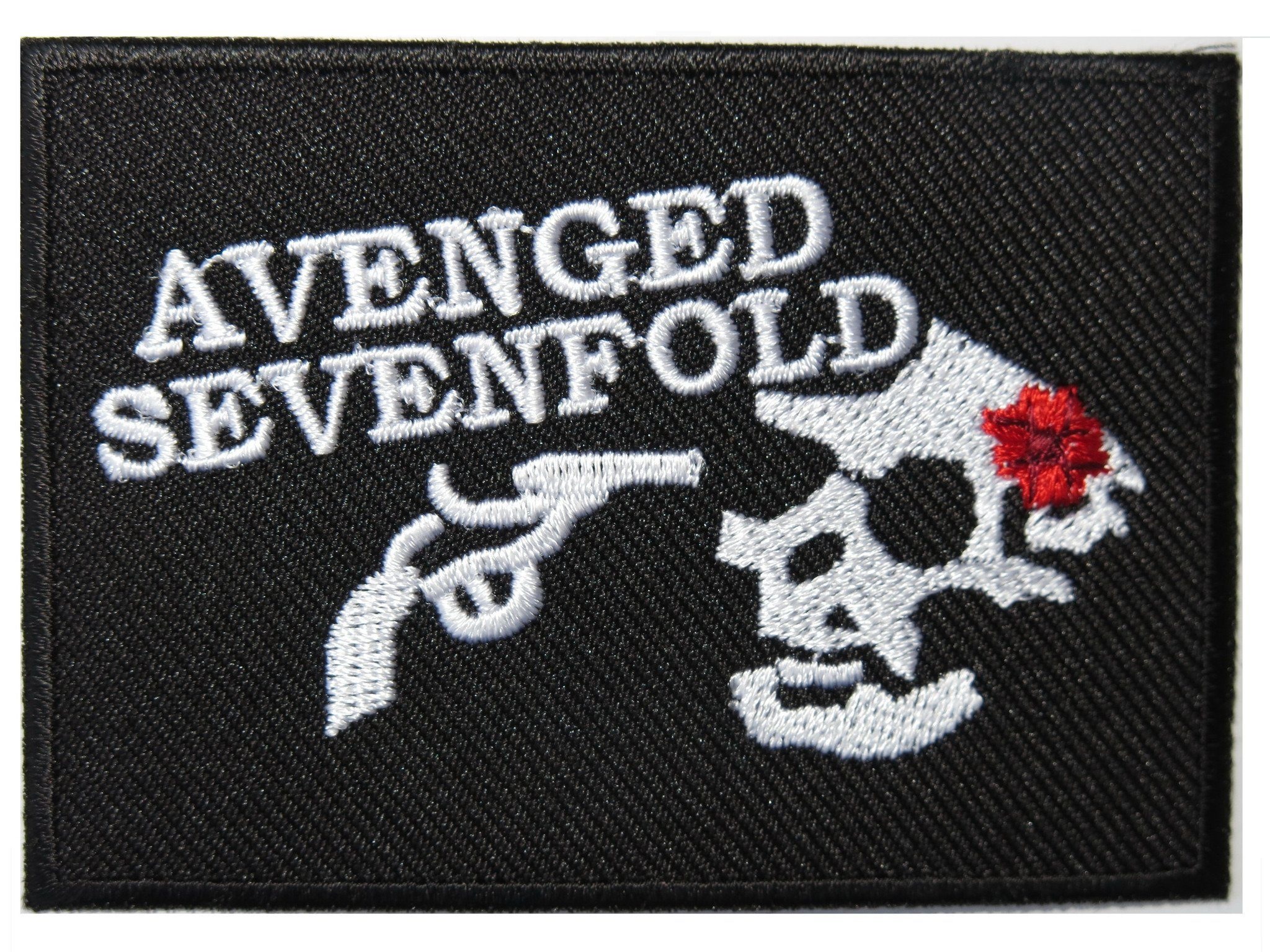 "AVENGED SEVENFOLD Headshot Iron On Embroidered Patch 3.2""/8cm - A Patch E Store"