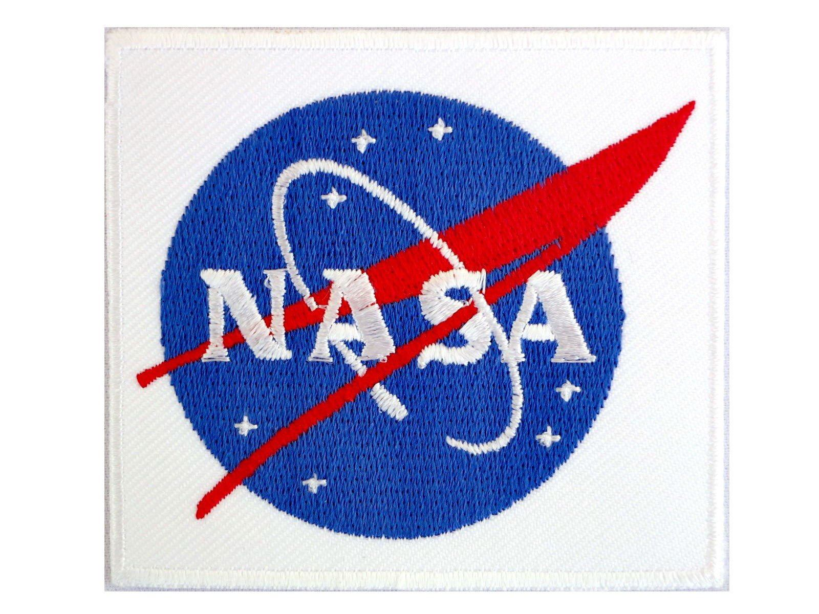 "NASA Space Centre Shuttle Iron On Embroidered Patch 3""/7.6cm - A Patch E Store"