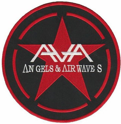 "ANGELS & AIRWAVES Logo Big Embroidered Back Patch 7.8""/19cm"