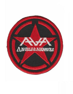 "ANGELS & AIRWAVES Logo Iron On Embroidered Patch 3""/7.5cm - A Patch E Store"