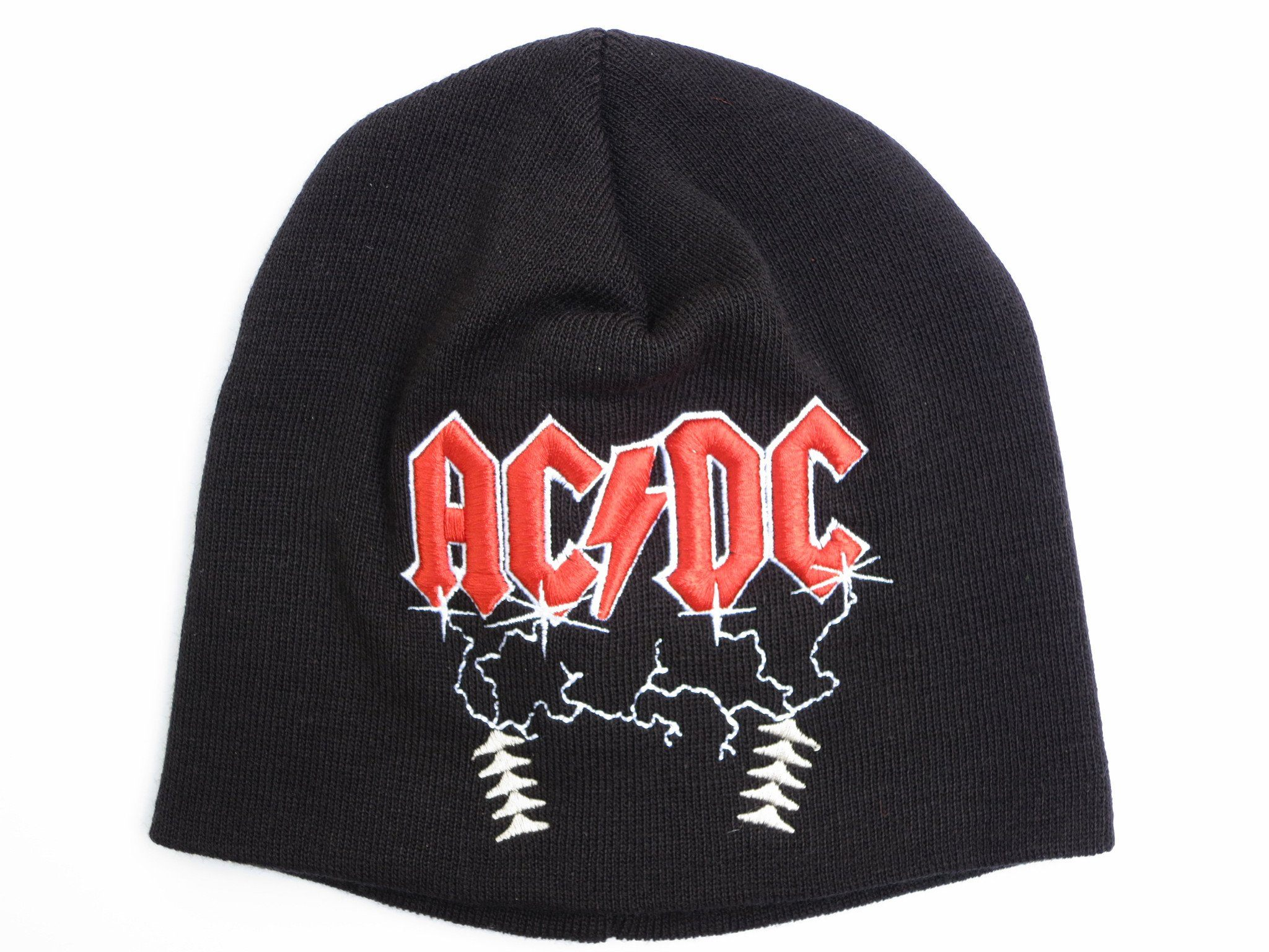 ACDC AC/DC Electric Logo Winter Wool Beanie Hat BNWT - A Patch E Store