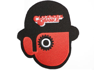 "CLOCKWORK ORANGE Droogs Iron On Embroidered Patch 4""/10cm - A Patch E Store"