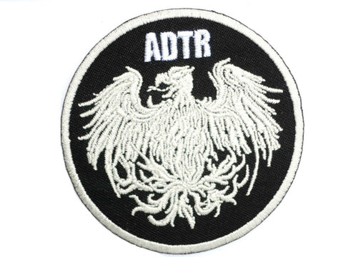 "A DAY TO REMEMBER ADTR Iron On Sew On Embroidered Patch 2.9""/7cm"