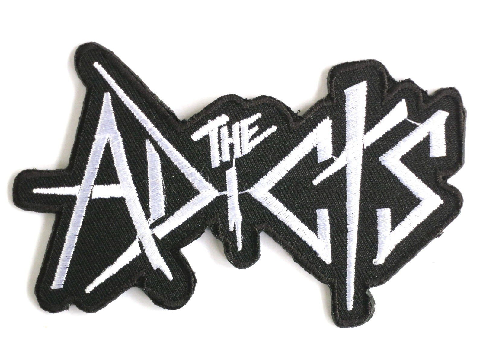 "THE ADICTS Punk Skins Iron On Embroidered Patch 4""/10cm - A Patch E Store"