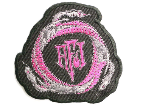 "AFI Snakes Iron On Sew On Embroidered Patch 2.7""/7cm"