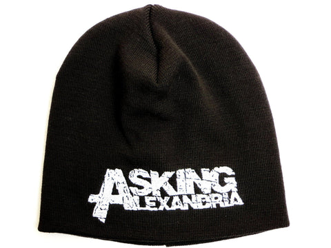 ASKING ALEXANDRIA Winter Wool  Beanie Hat BNWT - A Patch E Store