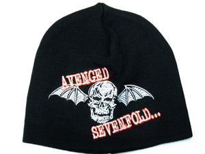 AVENGED SEVENFOLD Logo Acrylic Wool Beanie Hat BNWT - A Patch E Store