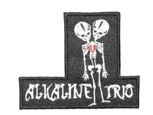 "ALKALINE TRIO Punk Rock Iron On Embroidered Patch 3.4""/8.5cm - A Patch E Store"