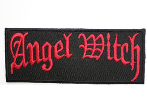 "ANGEL WITCH Iron On Embroidered Heavy Metal Patch 3.9""/9.8cm - A Patch E Store"