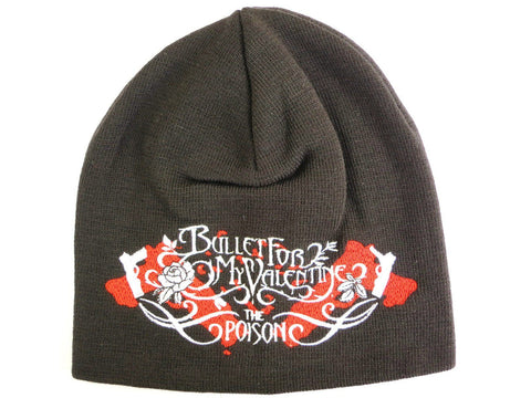 BULLET FOR MY VALENTINE Poison Winter Beanie Hat - A Patch E Store