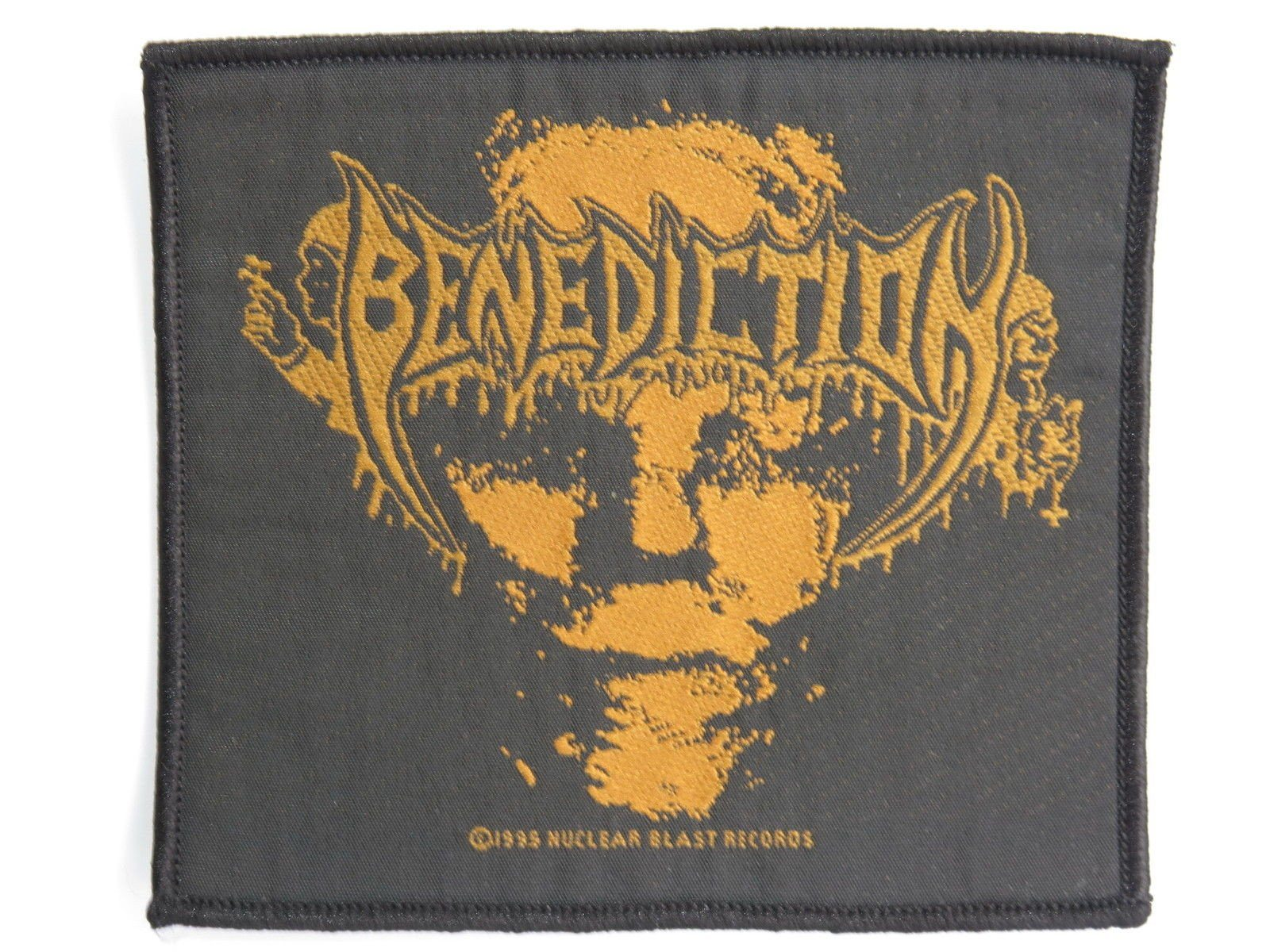 BENEDICTION Dreams Death Metal  Woven Patch - A Patch E Store