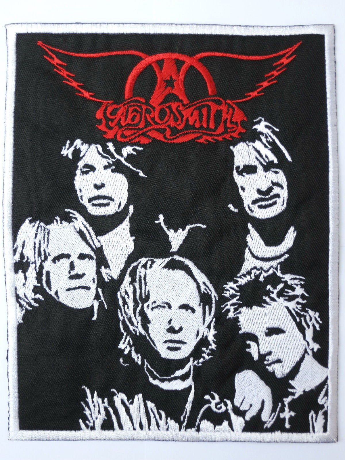"AEROSMITH Embroidered Big Back Patch 7.5""/19.4cm - A Patch E Store"