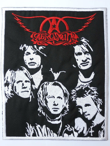 "AEROSMITH Embroidered Big Back Patch 7.5""/19.4cm"
