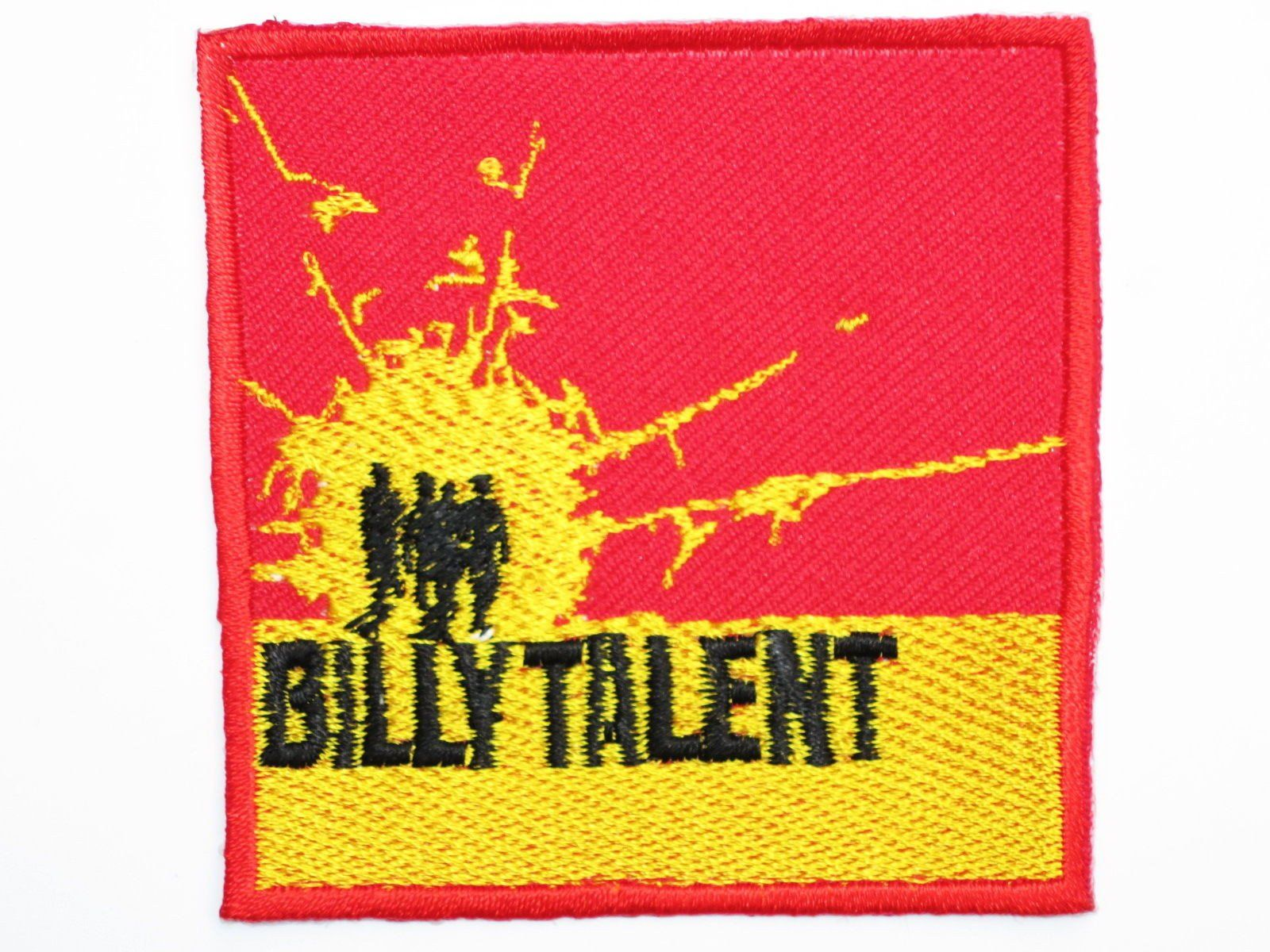 "BILLY TALENT Iron On Sew On Embroidered Patch 2.9""7.5cm - A Patch E Store"