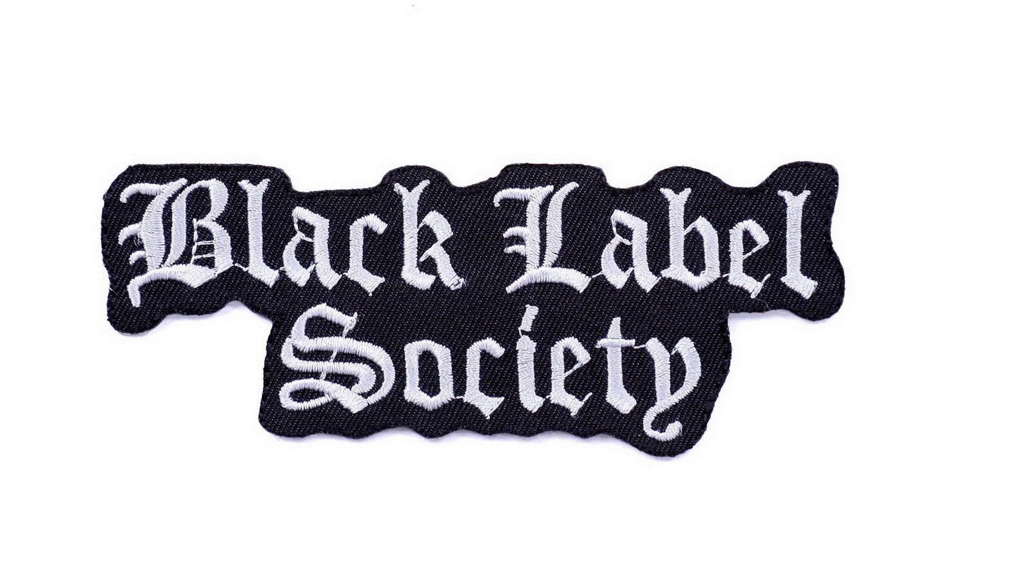 Black Label Society BLS Iron Sew On Embroidered Patch - A Patch E Store