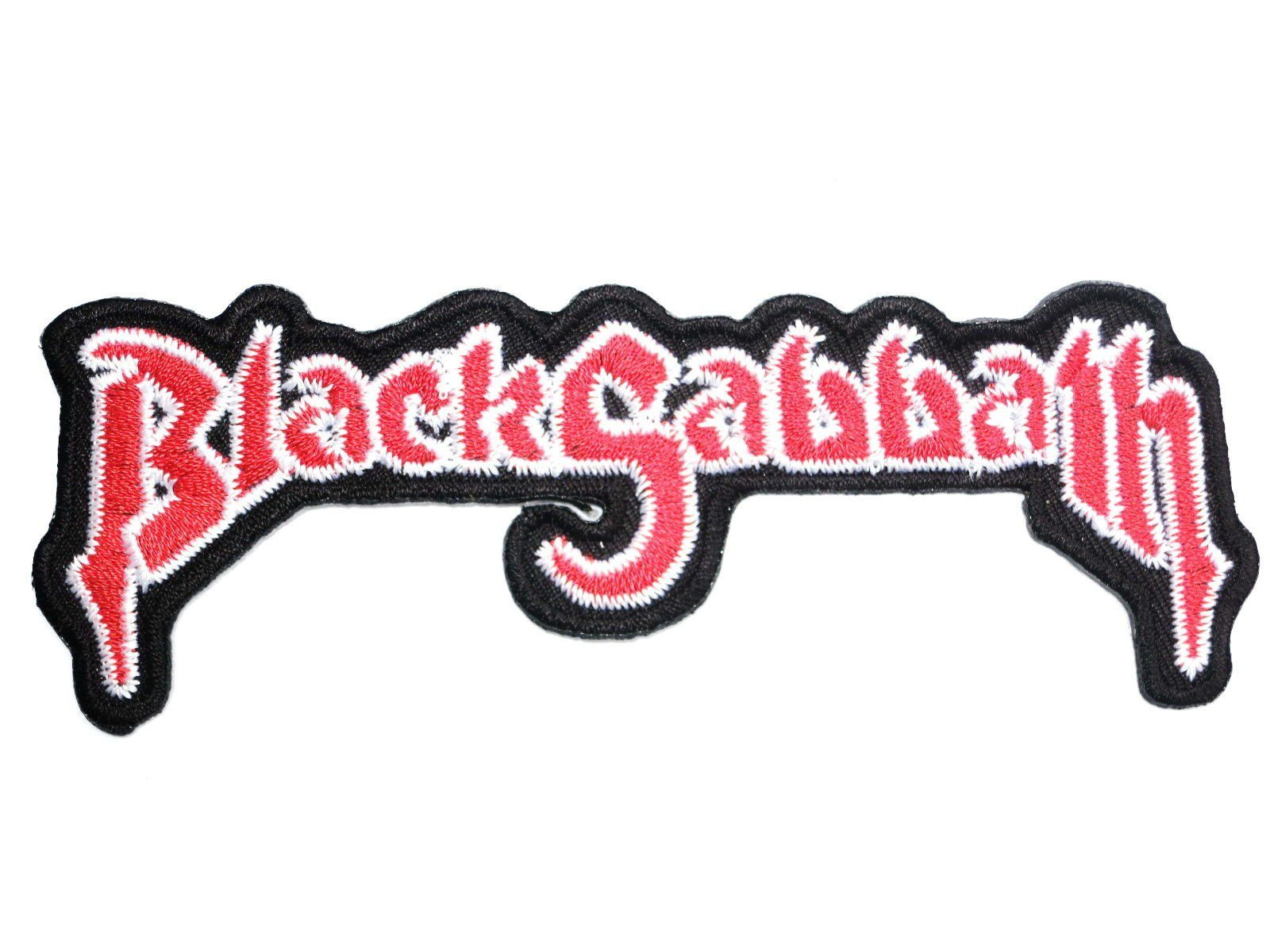 "BLACK SABBATH Retro Logo Iron On Embroidered Patch 4.5""/11.5cm - A Patch E Store"