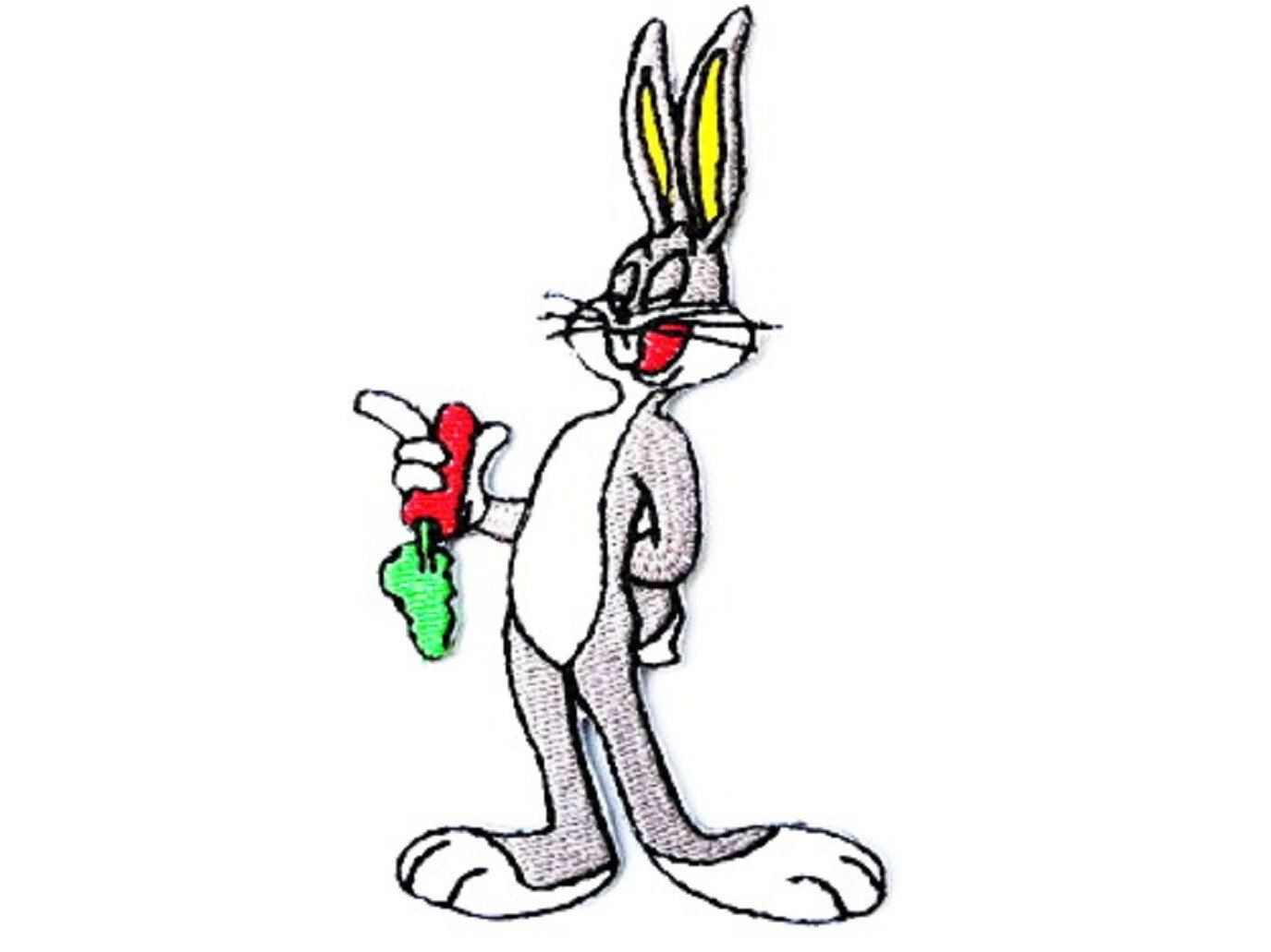 Bugs Bunny Iron On Sew On Embroidered Shirt Badge Patch - A Patch E Store