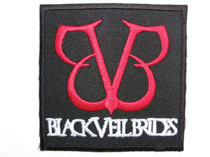 "BLACK VEIL BRIDES Iron On Sew On Embroidered Patch 2.7""/7cm - A Patch E Store"