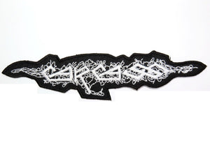"CARCASS Logo Iron On Sew On Metal Embroidered Patch 6""/15cm - A Patch E Store"